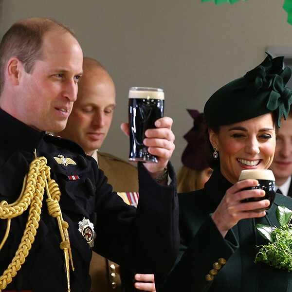 Kate Middleton, Prince William, Guinness, Beer, St. Patrick's Day 2019