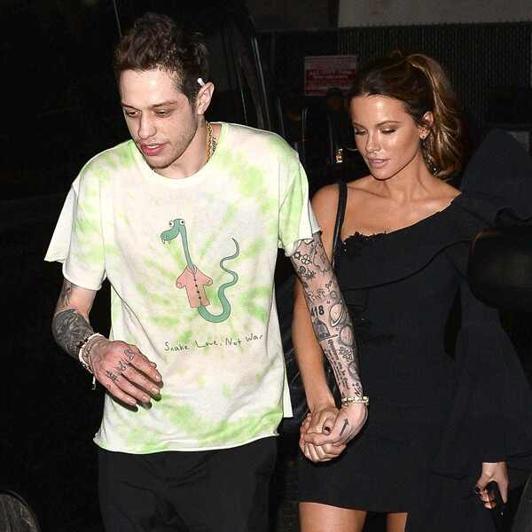 Kate Beckinsale, Pete Davidson, PDA