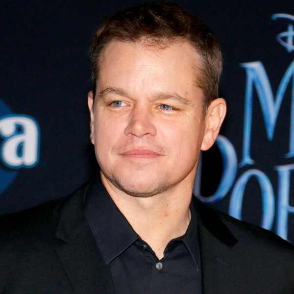 Matt Damon, Mary Poppins Returns Premiere