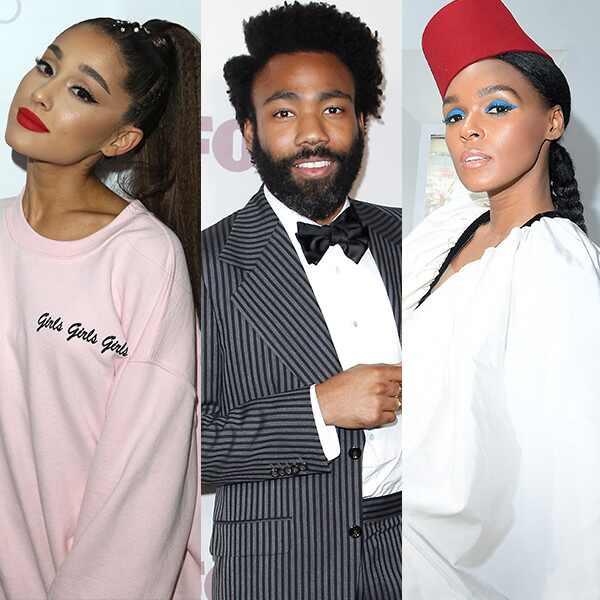 Ariana Grande, Childish Gambino, Donald Glover, Janelle Monae