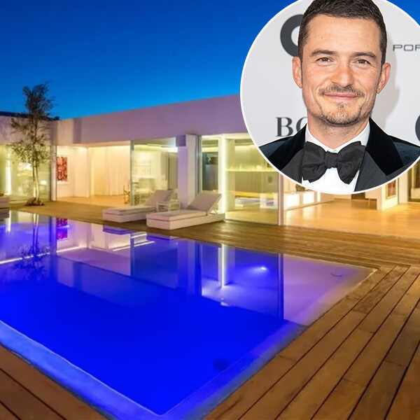 Orlando Bloom, Beverly Hills mansion, real estate