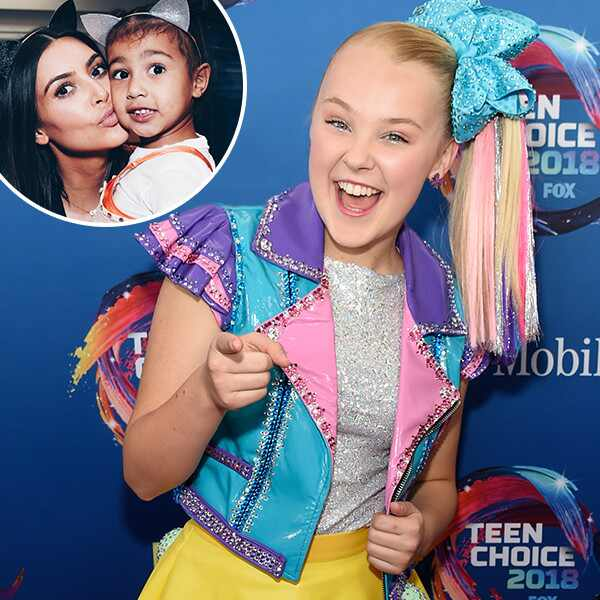 Jojo Siwa, Kim Kardashian, North West