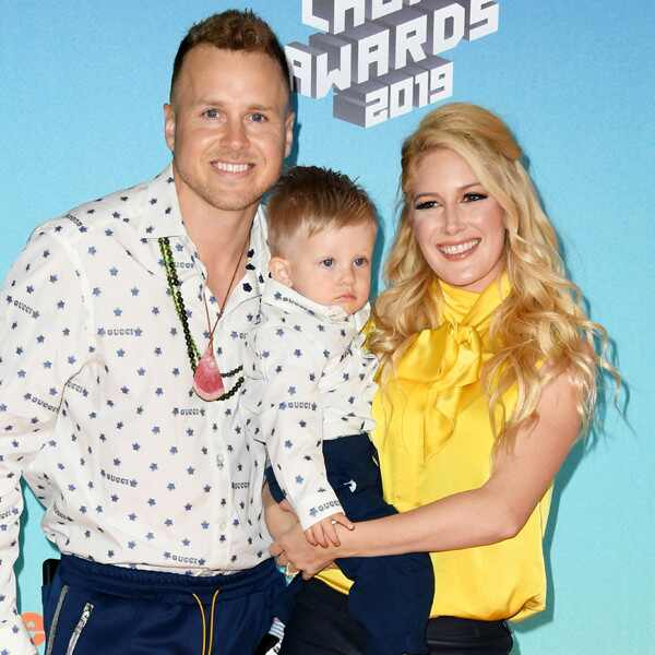 Heidi Montag, Spencer Pratt, Gunner, Nickelodeon 2019 Kids Choice Awards, Arrivals