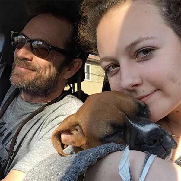 Sophie Perry, Luke Perry, Instagram