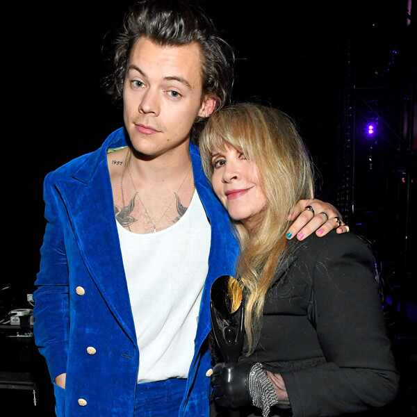 Harry Styles, Stevie Nicks, 2019 Rock & Roll Hall Of Fame Induction Ceremony