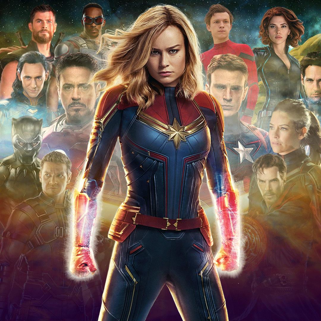 Captain Marvel, Marvel Cinematic Universe Cast