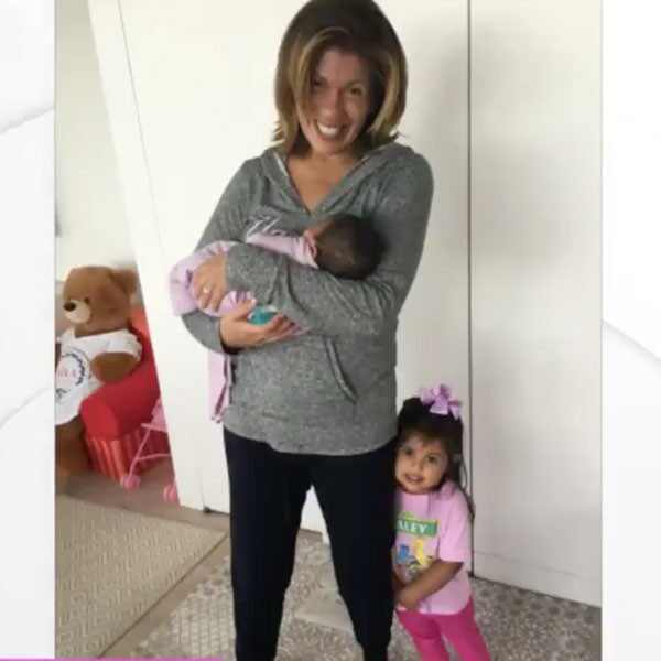 Hoda Kotb, Haley Joy, Hope Catherine