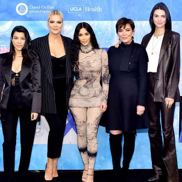 Kourtney Kardashian, Khloe Kardashian, Kim Kardashian West, Kris Jenner, Kendall Jenner