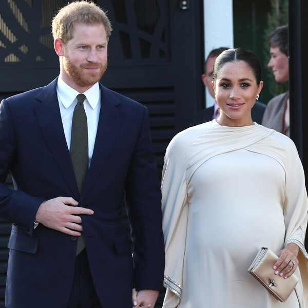 Meghan Markle, Prince Harry, Dior Dress, Morocco, Royal Baby