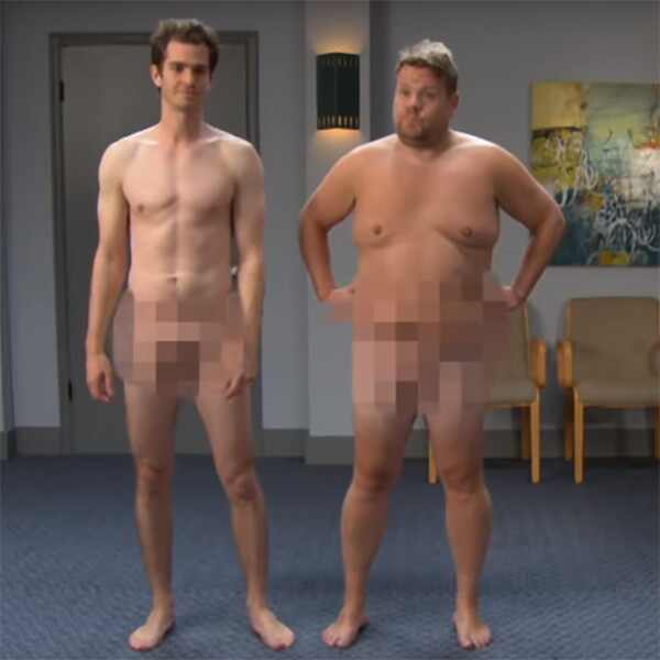 Andrew Garfield, James Corden, Late Late Show