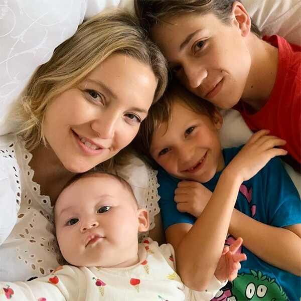 Kate Hudson, Sons, Ryder, Bingham, Daughter, Rani Rose, Kids, Children