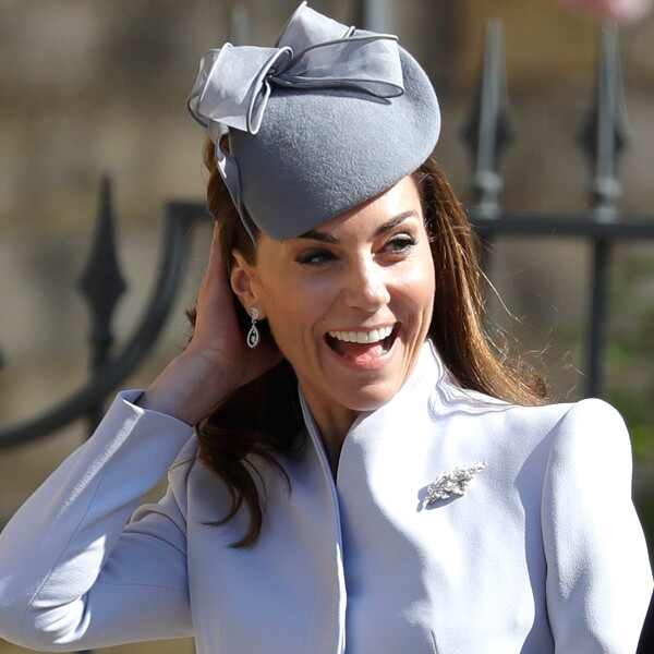 Kate Middleton, Easter Sunday Service