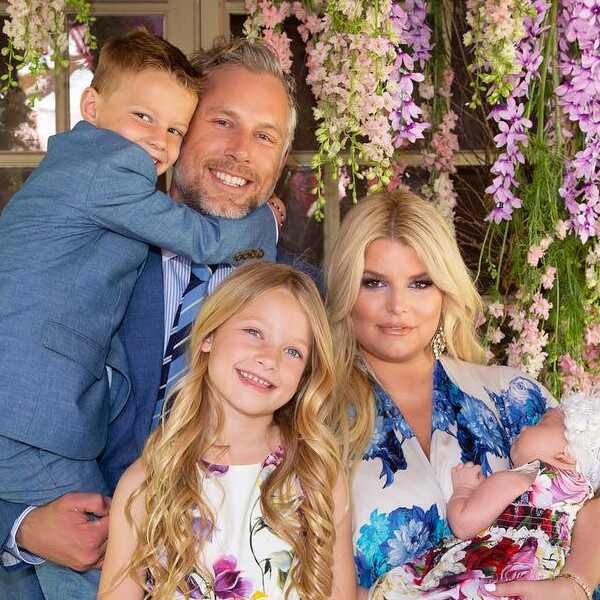 Jessica Simpson, Eric Johnson, Maxwell, Ace, Birdie, Kids, Son, Daughter, Easter 2019