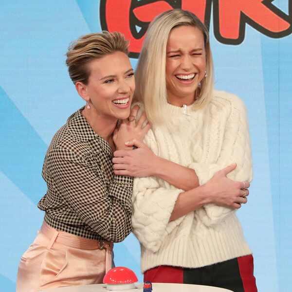 Brie Larson, Scarlett Johansson