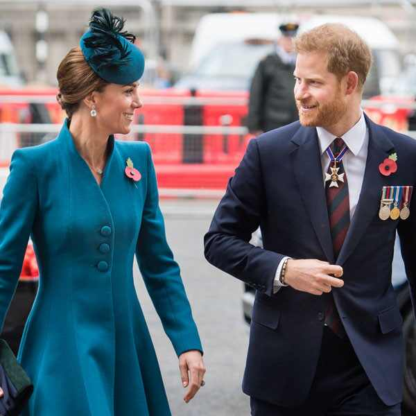 Kate Middleton, Prince Harry, ANZAC Day Service