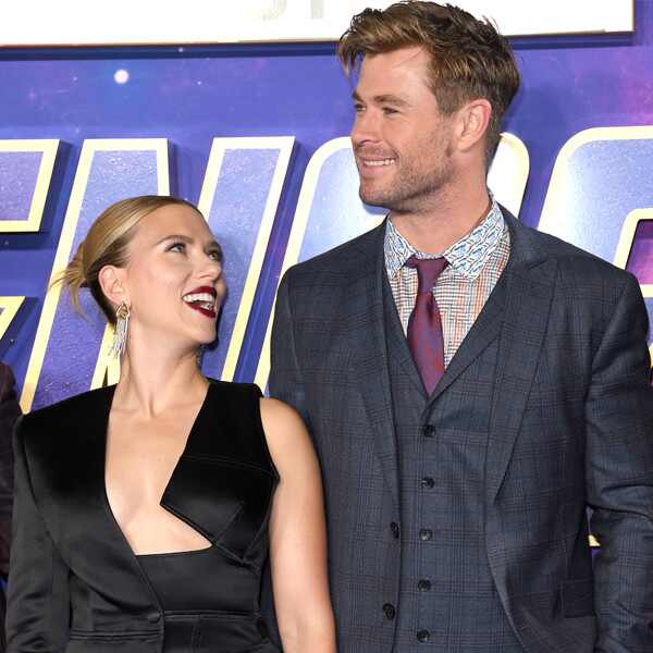 Scarlett Johansson, Chris Hemsworth