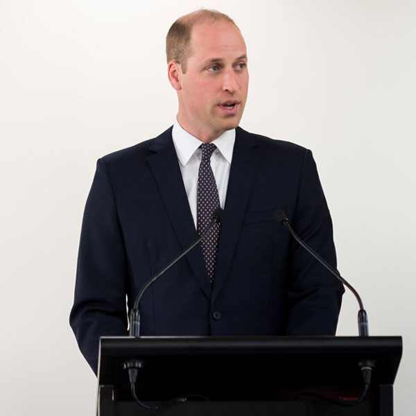 Prince William, Speech
