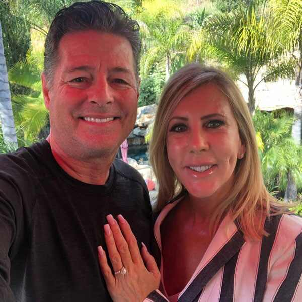 Vicki Gunvalson, Steve Lodge, Engagement