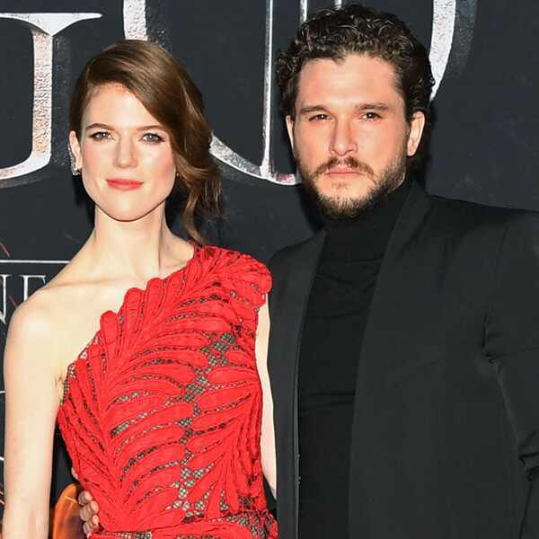 Kit Harington, Rose Leslie, Game of Thrones Season 8 Premiere