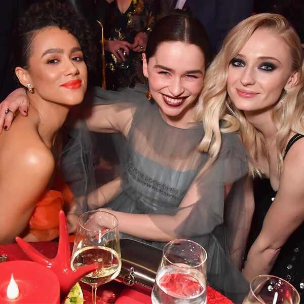 Nathalie Emmanuel, Emilia Clarke, Sophie Turner