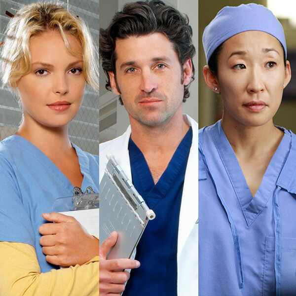 Katherine Heigl, Patrick Dempsey, Sandra Oh, Grey's Anatomy