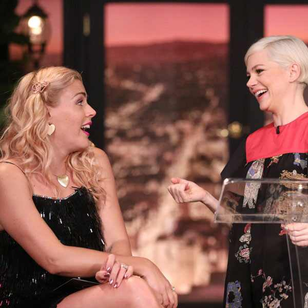 Busy Philipps, Michelle Williams, Busy Tonight