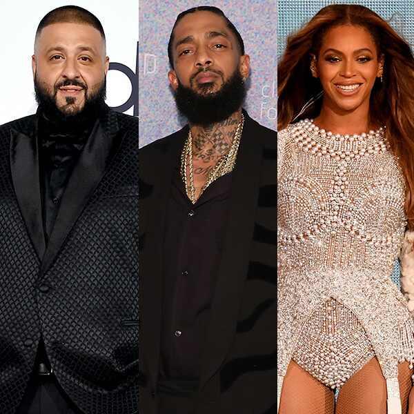 DJ Khaled, Nipsey Hussle, Beyonce
