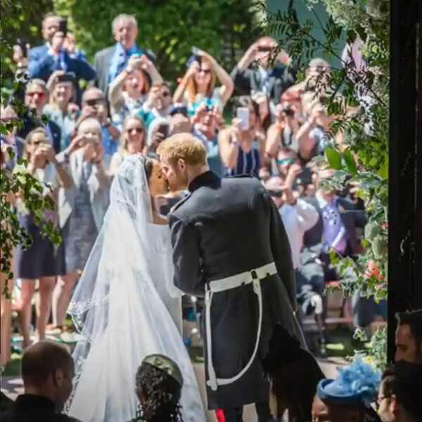 Meghan Markle, Prince Harry, Throwback, Royal Wedding, 1-Year Anniversary
