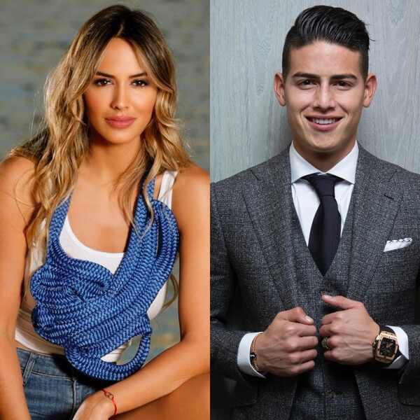 Shannon de Lima, James Rodriguez