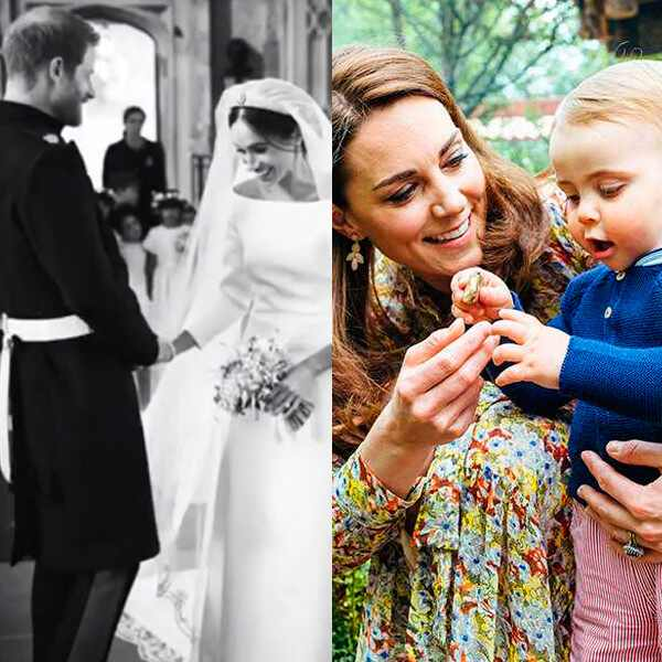 Meghan Markle, Prince Harry, Throwback, Royal Wedding, 1-Year Anniversary, Kate Middleton, Prince Louis