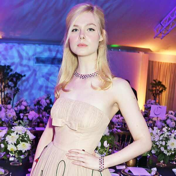 Elle Fanning, 2019 Cannes, Chopard Dinner