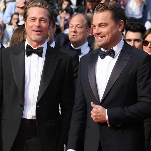 Brad Pitt, Leonardo DiCaprio, 2019 Cannes Film Festival