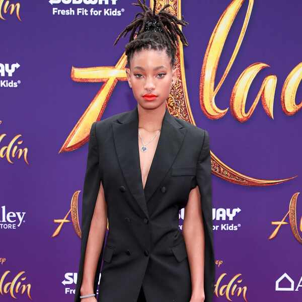 Willow Smith, Aladdin premiere