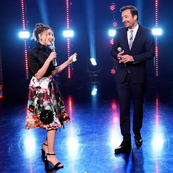 Millie Bobby Brown, Jimmy Fallon