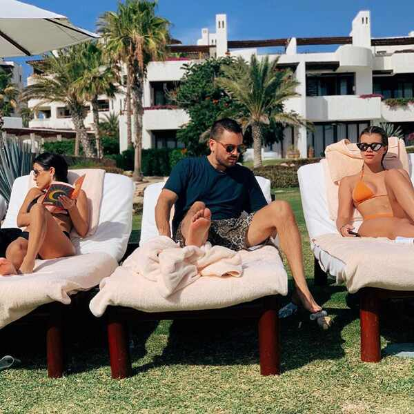 Kourtney Kardashian, Scott Disick, Sofia Richie