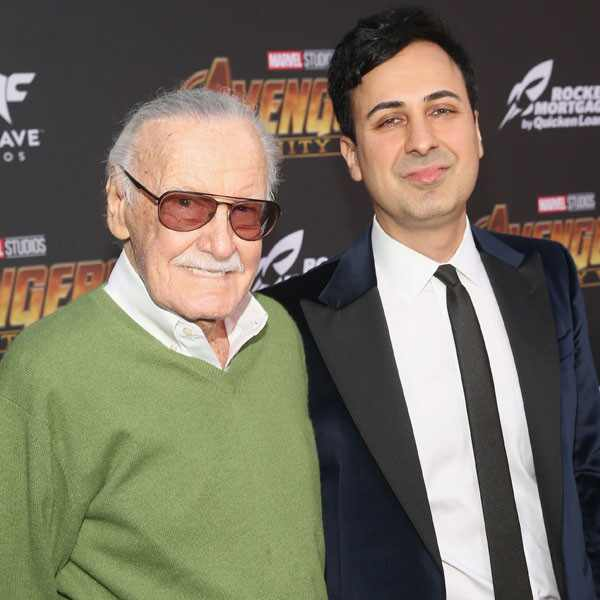 Stan Lee, Keya Morgan, Avengers Global World Premiere