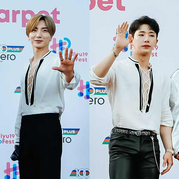 Super Junior Leeteuk, MONSTA X Wonho