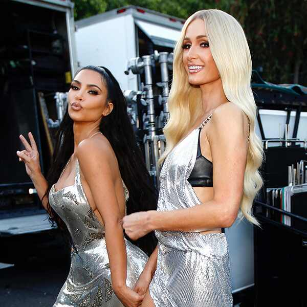 Kim Kardashian West, Paris Hilton