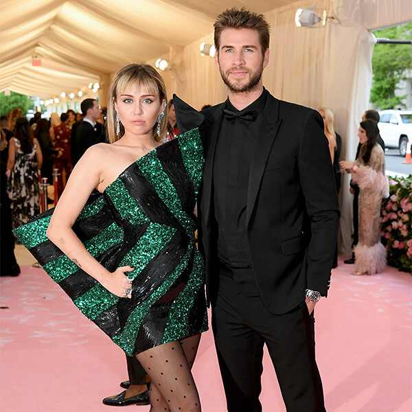 Miley Cyrus, Liam Hemsworth, 2019 Met Gala, Couples