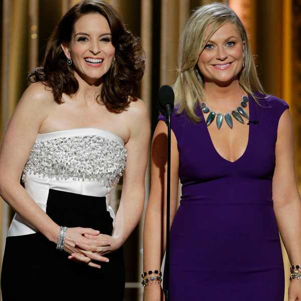 Tina Fey, Amy Poehler, 2015 Golden Globes