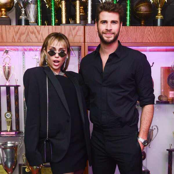Miley Cyrus, Liam Hemsworth, 2019 MET Gala, After Party