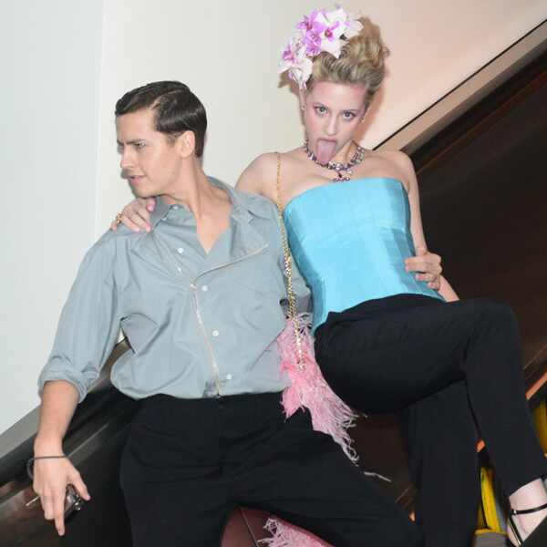 Cole Sprouse, Lili Reinhart, 2019 MET Gala, After Party, Candids