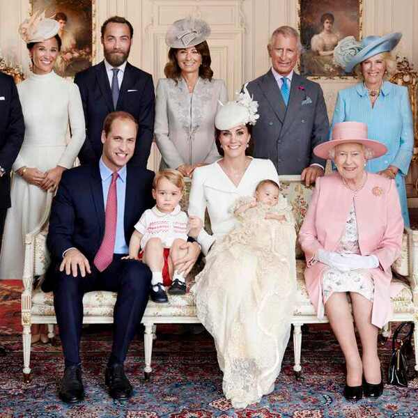 Duchess of Cambridge, Kate Middleton, Princess Charlotte, Prince William, Prince George, Queen Elizabeth, Christening