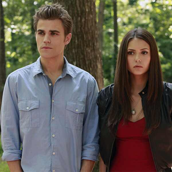 Nina Dobrev, Paul Wesley, The Vampire Diaries