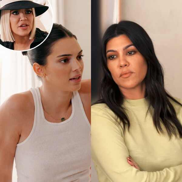 Kendall Jenner and Kourtney Kardashian from KUWTK 1610