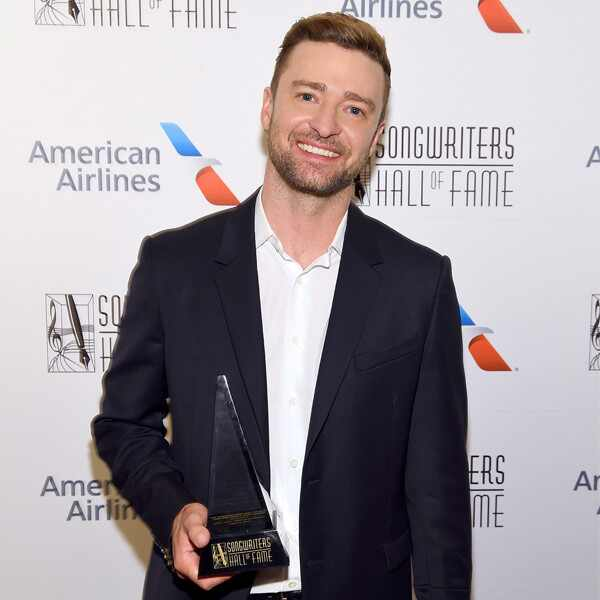 Justin Timberlake, Songwriters Hall Of Fame