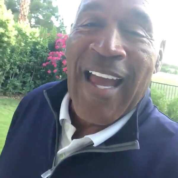 O.J. Simpson, Twitter, First Tweet