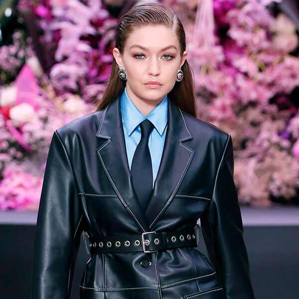 Gigi Hadid, Milan Men's Fashion Week