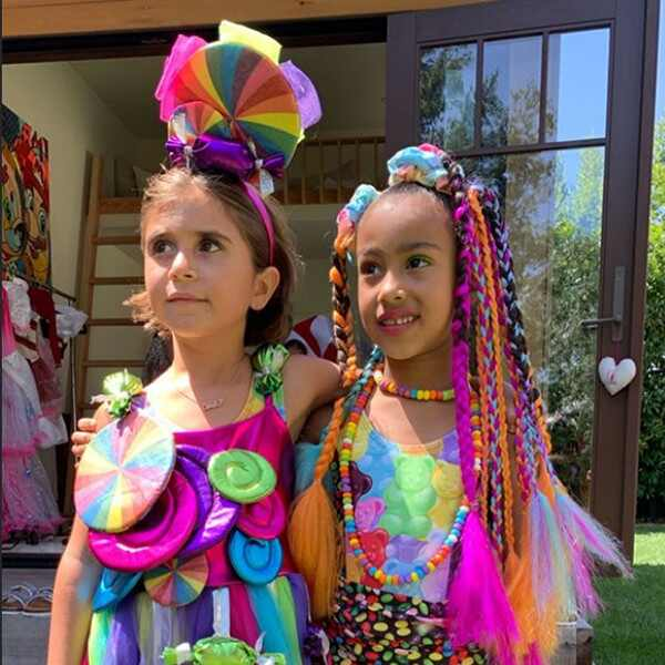 North West, Penelope Disick, Candy Land Birthday Party 2019
