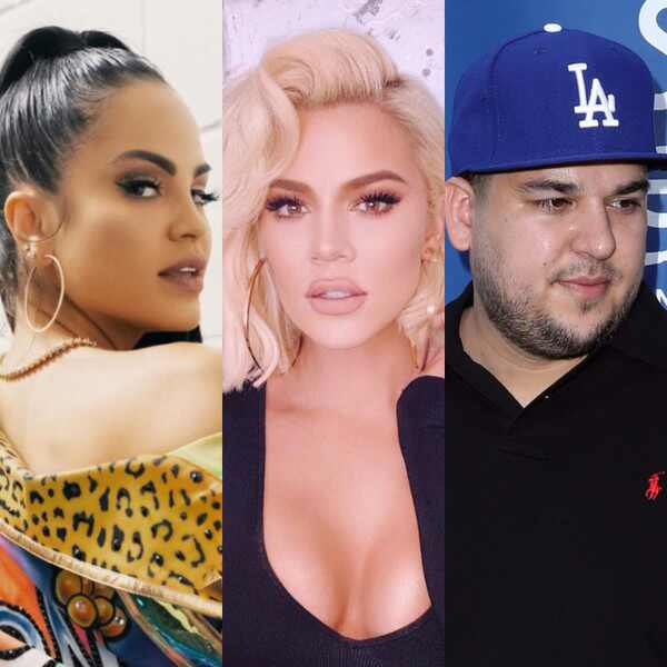 Natti Natasha, Khloe Kardashian, Rob Kardashian